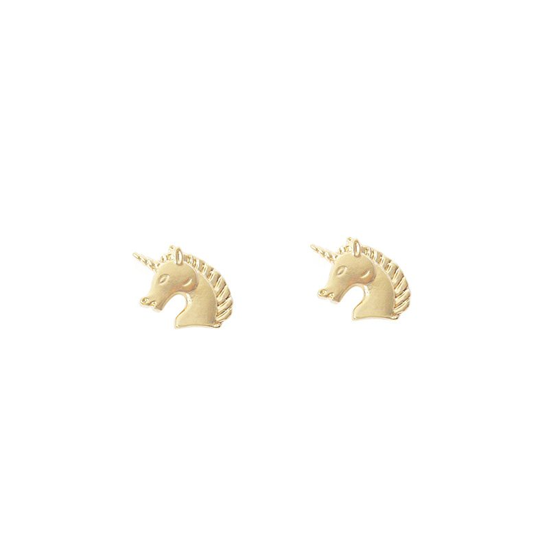 Pendiente unicornio